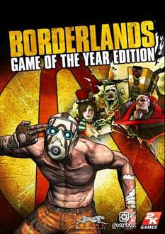 (Steam) Borderlands: Game of the Year Edition ca. 4,- € (nur dieses WE)
