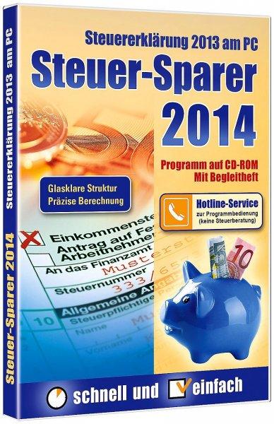 Steuer-Sparer 2014 ab 2,99€ für Postbank-Kunden, alle anderen 4,99€ - Amazonbewertung 5/5 Sterne