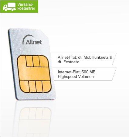 Limango-Aktion: 7,99 € statt 19,95 € - Allnet-Flat mit 500 MB Datenvolumen für nur 7,99 €/Monat.