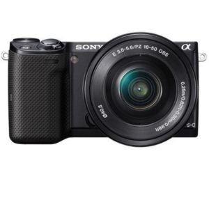 SONY NEX 5 TLB schwarz mit 16-50mm