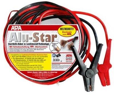 Alu-Star Starthilfekabel 12V/24V 3,5m Länge. Für Otto bis 5500ccm und Diesel bis 3000ccm @Marktkauf [offline]
