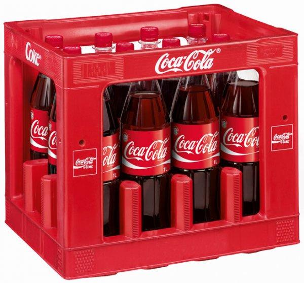 Edeka Bundesweit, Coca Cola und Co. 12er Kiste für 8,49 Euro zzgl. Pfand