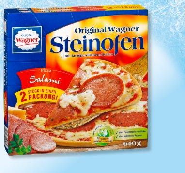 Penny: ORIGINAL WAGNER Steinofen-Pizza oder Flammkuchen für 3,79€