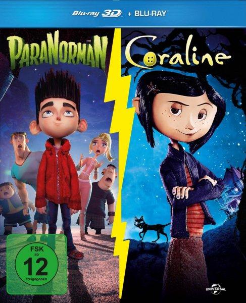 [Amazon.de] Coraline & Paranorman 3D-Boxset (Limitiert / Exklusiv bei Amazon.de) [3D Blu-ray] für 11,97 € (Prime oder Hermes)