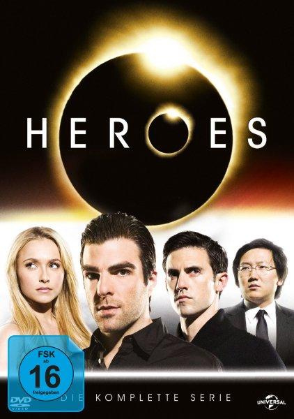 Amazon.de| Heroes - Die komplette Serie - auf DVD um 27,97€
