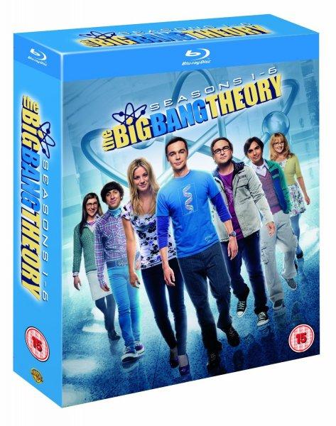 The Big Bang Theory - Season 1-6 [Blu-ray] für 41€ @Amazon.co.uk