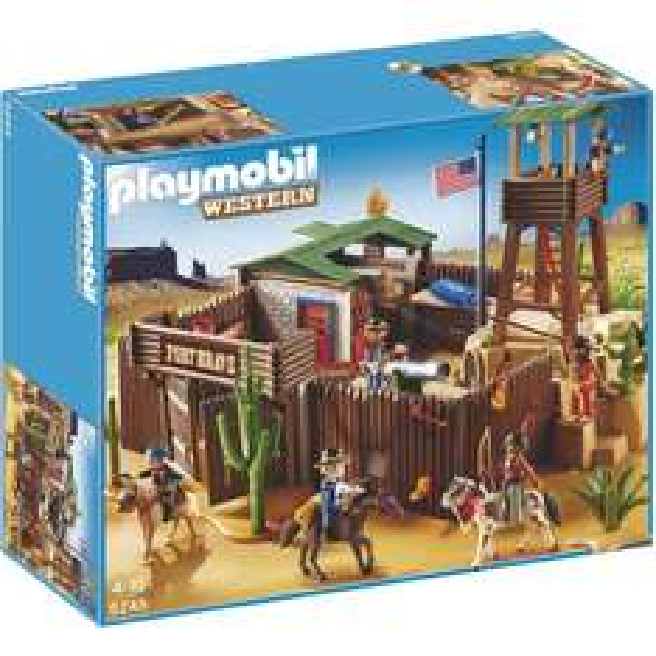 Playmobil ® - 5245 Großes Western-Fort für 44€ @Karstadt