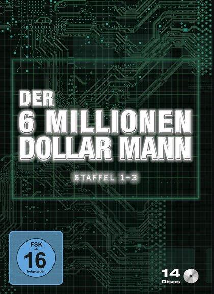 Der 6 Millionen Dollar Mann Staffel 01-03 (DVD) für 22€ @Media Dealer