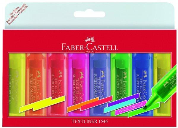 [Müller] Faber-Castell Textmarker Textliner 1546 - 8er Set