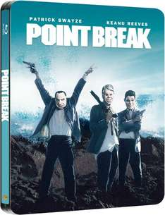 [Zavvi.uk] Point Break - Gefährliche Brandung (Limited Edition) [Blu-ray Steelbook] für ca. 6,35 €