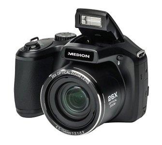 plus.de (PLUS des Tages): 16 MP Superzoom-Kamera MEDION® LIFE® X44027 für 99 Euro