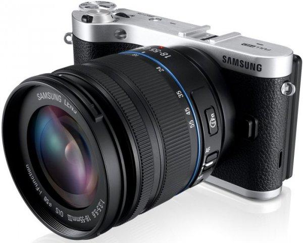 Samsung NX300 Schwarz mit Objektiv NX 18-55mm & NX 50-200mm für 496€ @Kücher(AT)