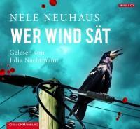 """Hörbuch """"Wer Wind sät"""" von  Nele Neuhaus für 11,99 Euro"""