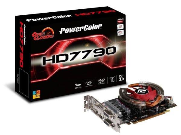 PowerColor Radeon HD7790 1GB GDDR5 OC (wie NEU)