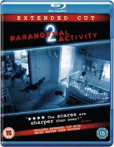 Blu-ray - Paranormal Activity 2 (Extended Cut) für €5,41 [@Wowhd.co.uk]