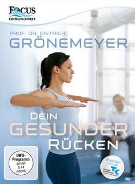 DVD: Prof. Dr. Grönemeyer - Dein Gesunder Rücken @Amazon für 6,97 € (Bestpreis)