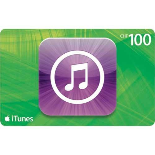 CH-DEAL Itunes Geschenkkarte CHF 100 fuer CHF 85 bei Postshop