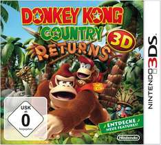 [Amazon.de] Donkey Kong Country Returns 3D [3DS] für 29,50 € Aktueller Bestpreis!