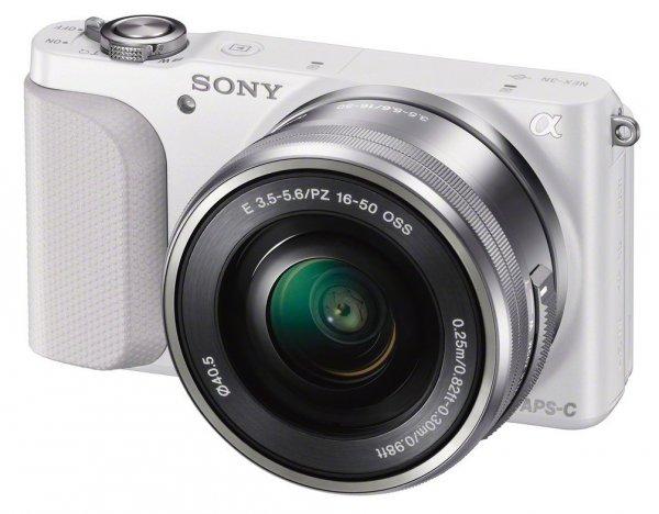Sony Alpha NEX-3N Kit 16-50 mm (weiß) (NEX-3NLW) 299€ Lokal [Mediamarkt Wuppertal]
