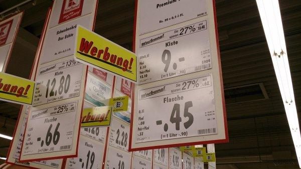 Hasseröder Premium Pils im Kaufland, 89129 Langenau für 0,45 Euro die Flasche/9,00 Euro ganze Kiste