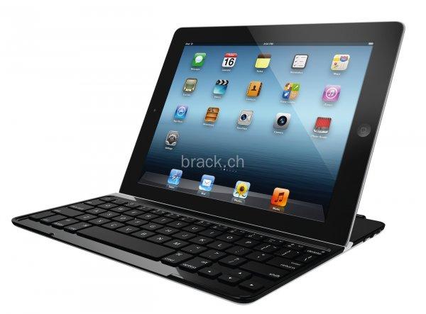 Logitech Ultrathin Keyboard Cover für iPad Air (weiß oder schwarz), mit Logitech Cashback Aktion