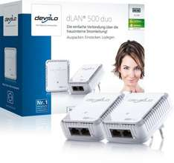 Devolo dLAN 500 Duo Starter Kit - Expert Bening 39€!!!