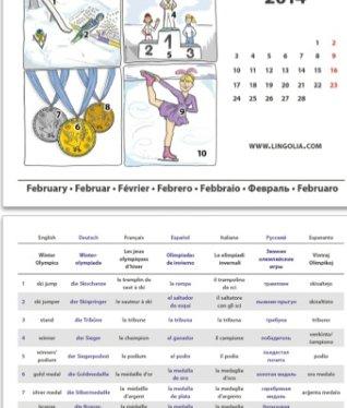 Lingolia - Vokabelkalender 2014
