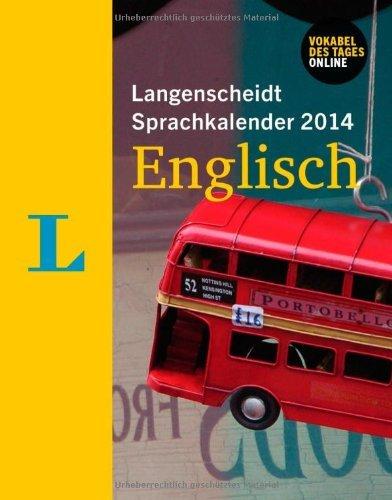 Langenscheidt Sprachkalender 2014 für 4,99€ inkl. Versand bei terrashop.de