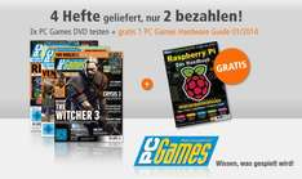 3x PC Games DVD + 1x Hardware Guide - Das große Handbuch: Raspberry Pi