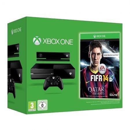 Microsoft Xbox One Konsole + Fifa 14, 500 GB USK 0