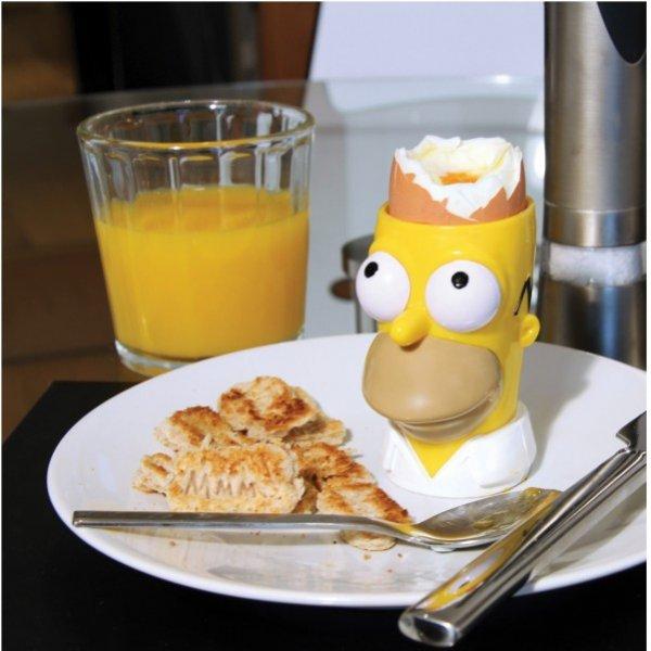 The Simpsons Eierbecher & Toastschneider