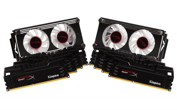 Kingston Beast series XMP KHX21C11T3FK8/64X Arbeitsspeicher 64GB DDR3-RAM Kit für 499,90 € inkl. Versand
