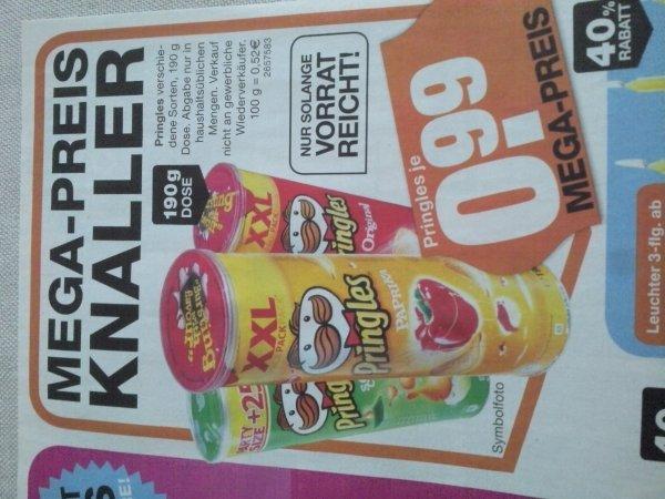 Pringles XXL 190g beim Segmüller 0.99€