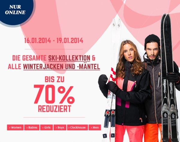 Bis zu 70% im C&A Sale (online)