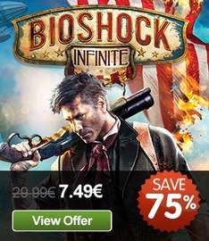 Bioshock Infinite [Steam] für 5,62 €