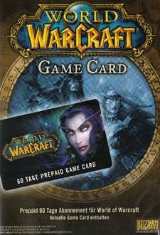 World of WarCraft - GameCard (60 Tage Pre-Paid) @Amazon.de