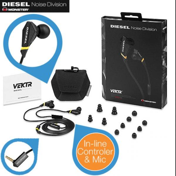 Monster Diesel VEKTR In-Ear-Kopfhörer