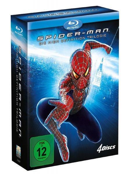[Lokal?] [Blu-ray] Spider-Man Trilogie