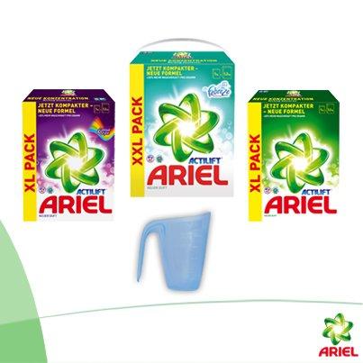 Gratis Dosierhilfen für Waschmittel von P&G (Ohne EAN Prüfung, ohne Werbung/Spam!)