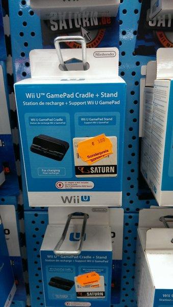[offline Saturn Trier] Wii U GamePad Cradle. Lokal