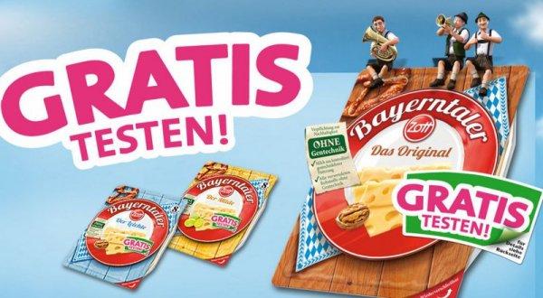 """Zott Bayerntaler """"Das Original"""" Scheiben gratis testen (3 Packungen pro Haushalt)"""