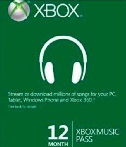 12 Monate Xbox Music Pass für 24€
