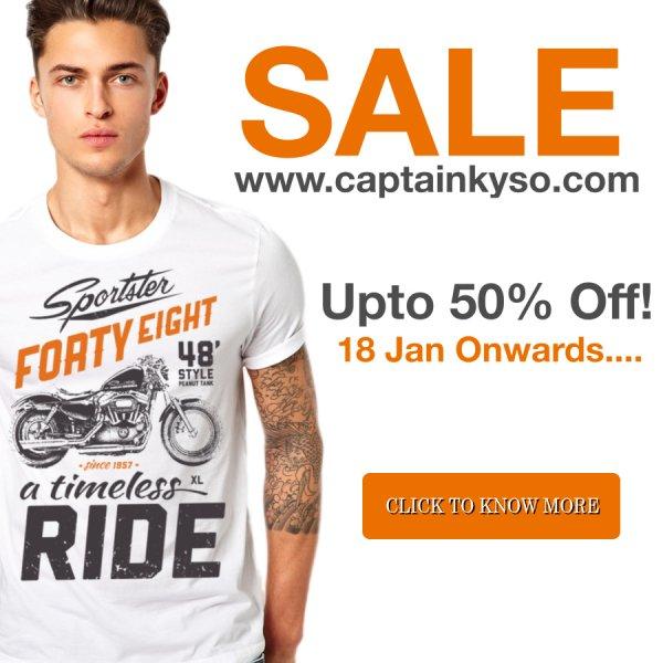Captain KYSO - über 60 T-Shirt Designs im SALE bis zu 50%