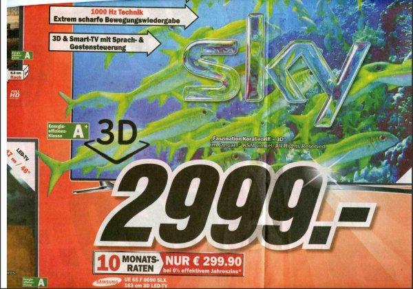 Samsung UE65F8090  MM FFM Borsigallee