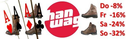 Hanwag Wanderschuhe günstig bei Wildnissport.de