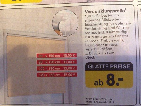 Verdunkelungsrollo inkl. Wärmeschutz ab 8€ - Scottie Netto mit Hund - Berlin/Brandenburg
