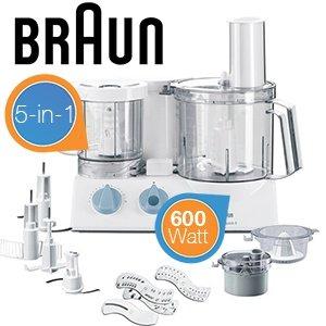 Braun Multiquick 5 Küchenmaschine K700 für 99,95€ zzgl. 8,95€ Versand @iBOOD
