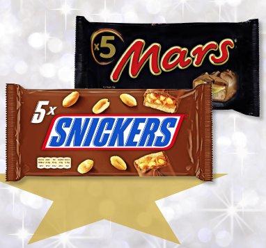 [Penny]MARS, SNICKERS oder TWIX Schokoriegel für 1,29€!!!
