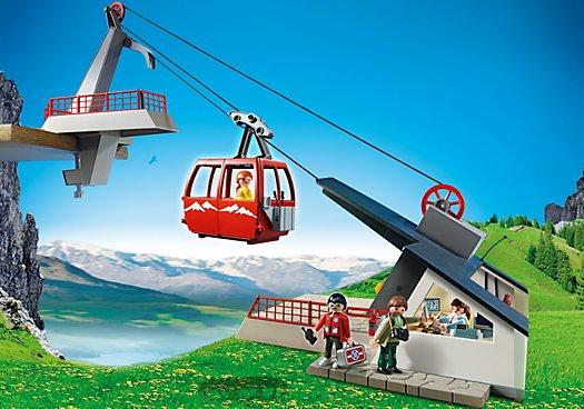 Playmobil 5426 Seilbahn mit Bergstation