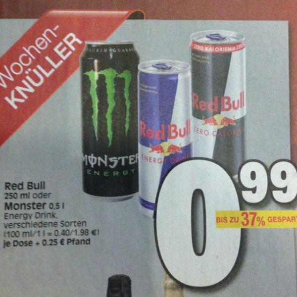 [Lokal Ratio Baunatal] Red Bull und Monster Energy Drink für jeweils 99 Cent